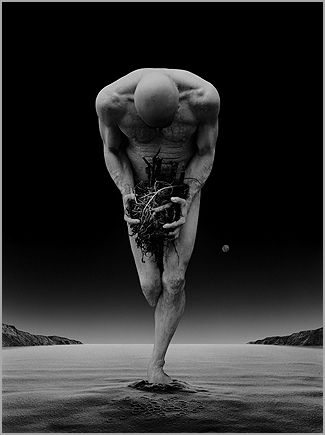 Misha Gordin; film photography, no digital techniques used